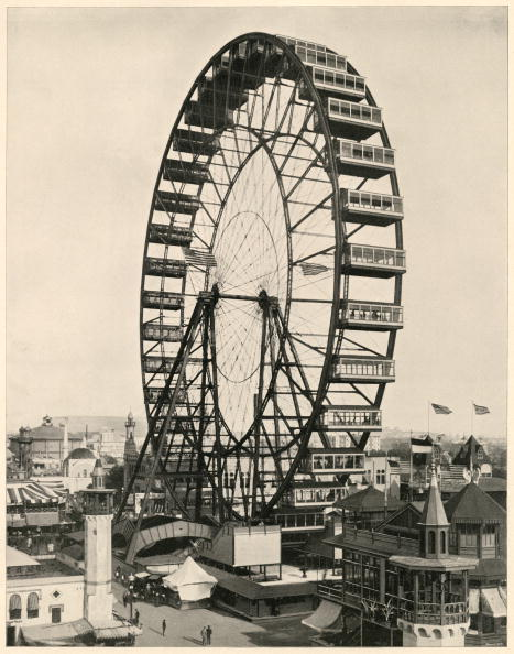 1893 World's Fair Ferris Wheel | Getty Images